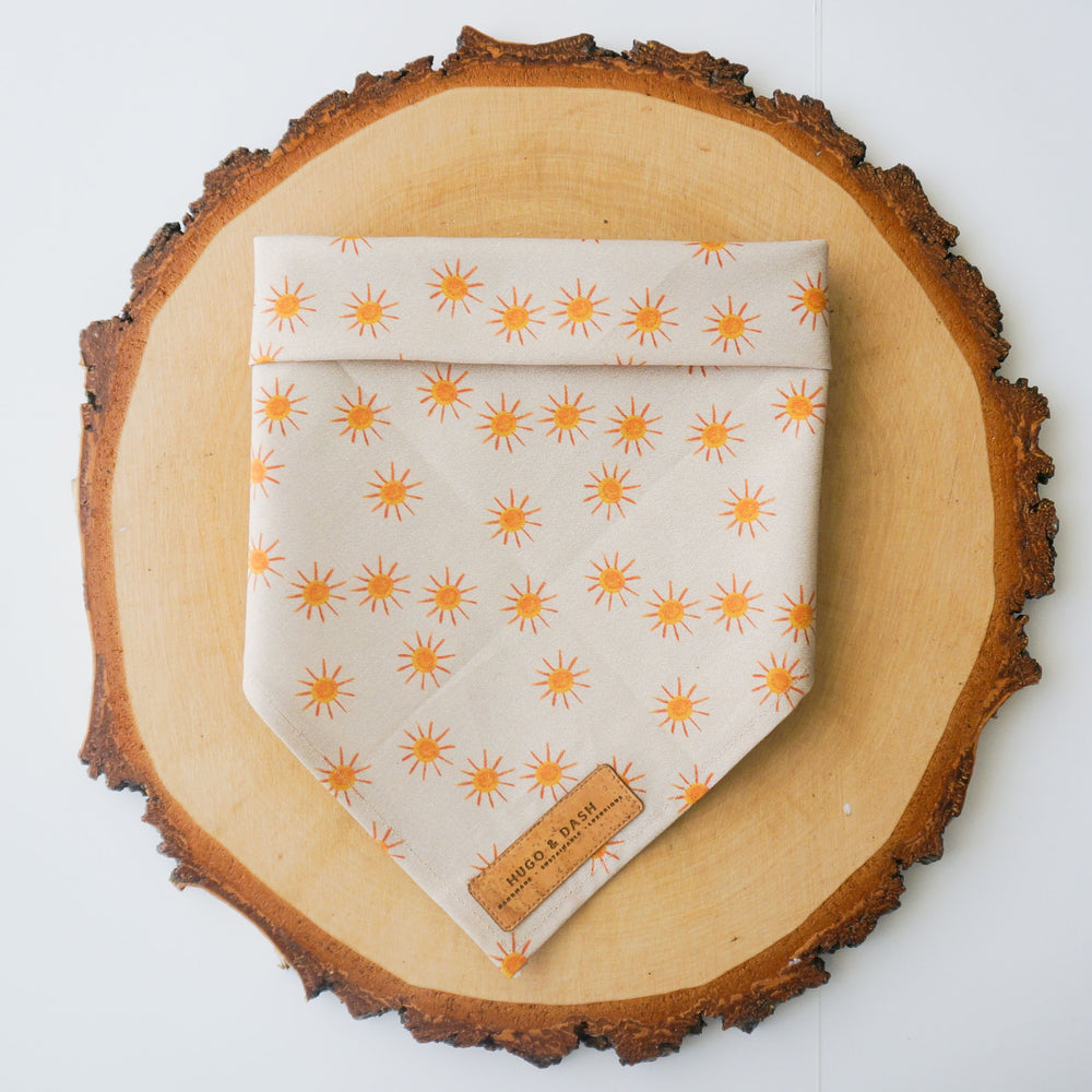 """Golden Afternoon"" Bandana"
