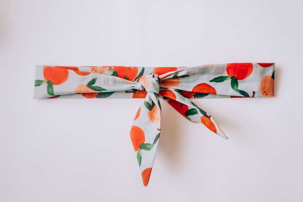 """Peaches & Cream"" Neckerchief"