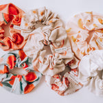 """Peaches and Plums"" Scrunchies"