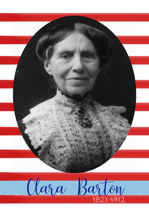 Clara Barton Letter: Digital Download