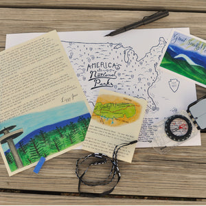 Great Smoky Mountain National Park Letter