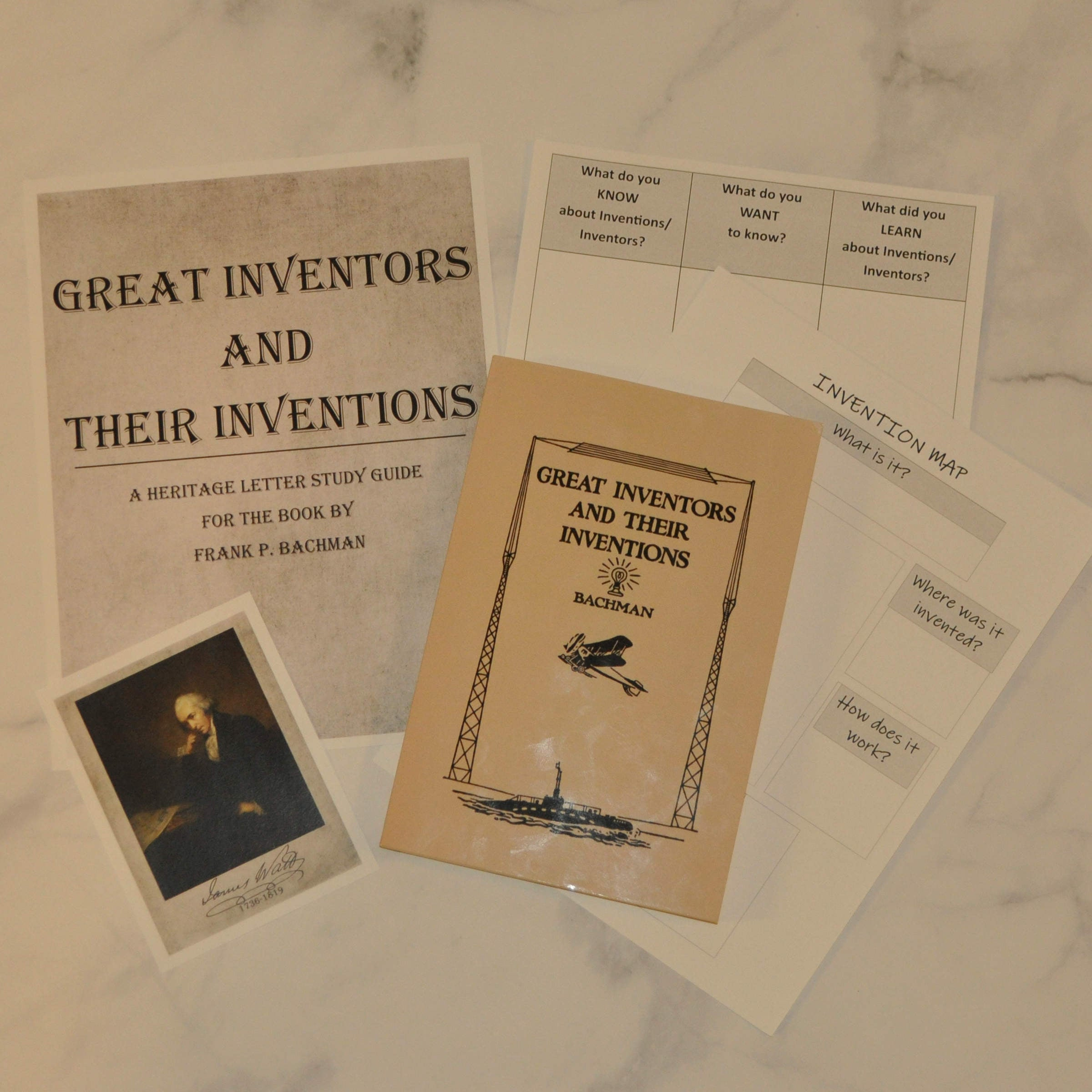 Great Inventors and Their Inventions Study Guide