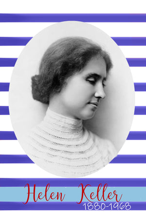 Helen Keller Letter: Digital Download