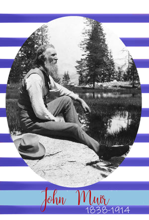 John Muir Letter: Digital Download