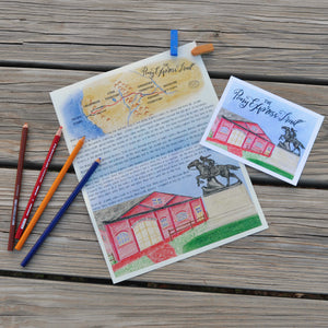 Pony Express Trail Letter
