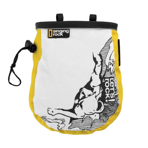Singing Rock Comic Chalk Bag - VerxAustralia