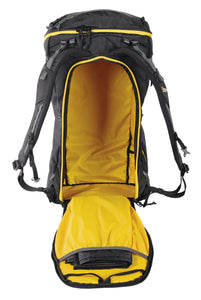 Opened Singing Rock Rocking 40 Climbing backpack