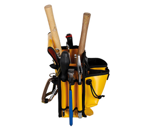 Singing Rock Toolkit bag filled with work equipment