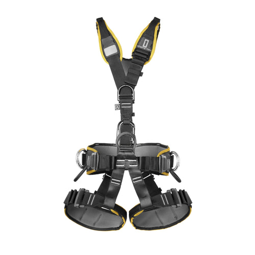 Singing Rock Expert Speed III - Harness + FREE Cam Clean Chest Ascender
