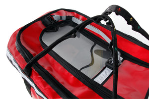 Detail of baby rescue emergency escape bag