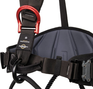 Detailed View of Roof Climbing Harness