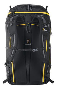 Back of Singing Rock Rocking 40 Climbing backpack