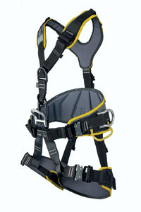 Side View on Rope Access Full Body Harness
