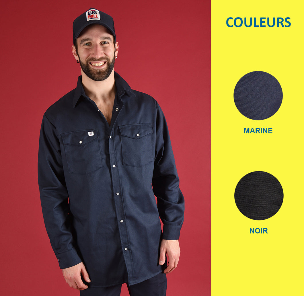 Chemise boutons-pression - Big Bill - Homme