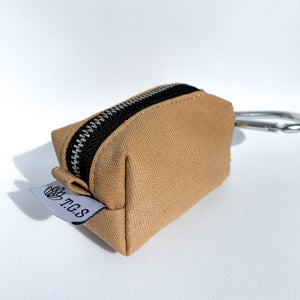 Canvas Dog Poop Bag Dispenser