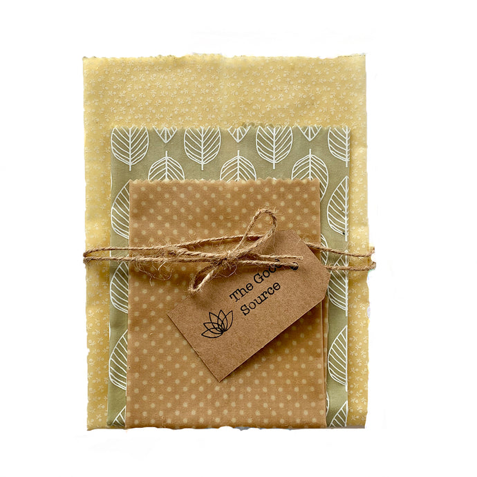 Beeswax Wraps - Purity Set