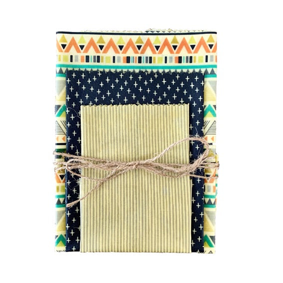 Beeswax Wraps - Aztec Set