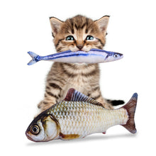 Catch Of The Day - Plush Fish Toy (Cat-Approved) - Kit-Cat Co. | Cute Cat Products