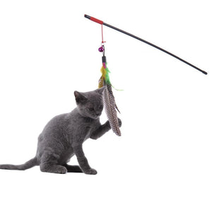 Feather Stick Toy - Kit-Cat Co. | Cute Cat Products