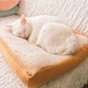 Fluffy Toast Bed - Kit-Cat Co. | Cute Cat Products
