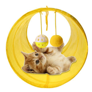 Collapsible Kitten Play Tunnel - Kit-Cat Co.