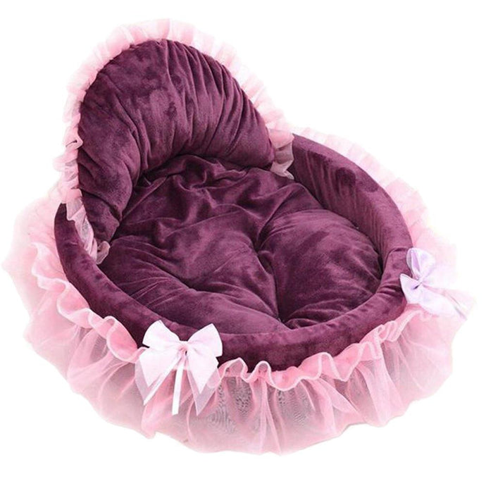 Lace Princess Bed - Kit-Cat Co. | Cute Cat Products
