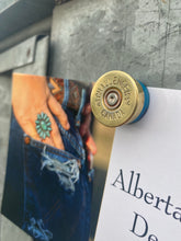 Load image into Gallery viewer, Shotgun Shell Challenger Magnet- Blue Casing