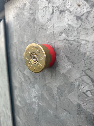 Shot Gun Shell Magnet- Red Casing
