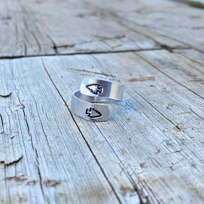 Aluminum Arrow Wrap Ring