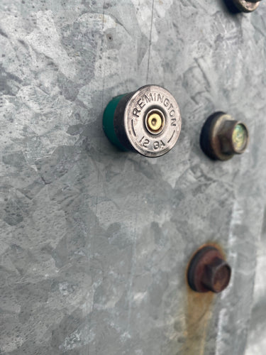 Remington Shotgun Shell Magnet - Green Casing