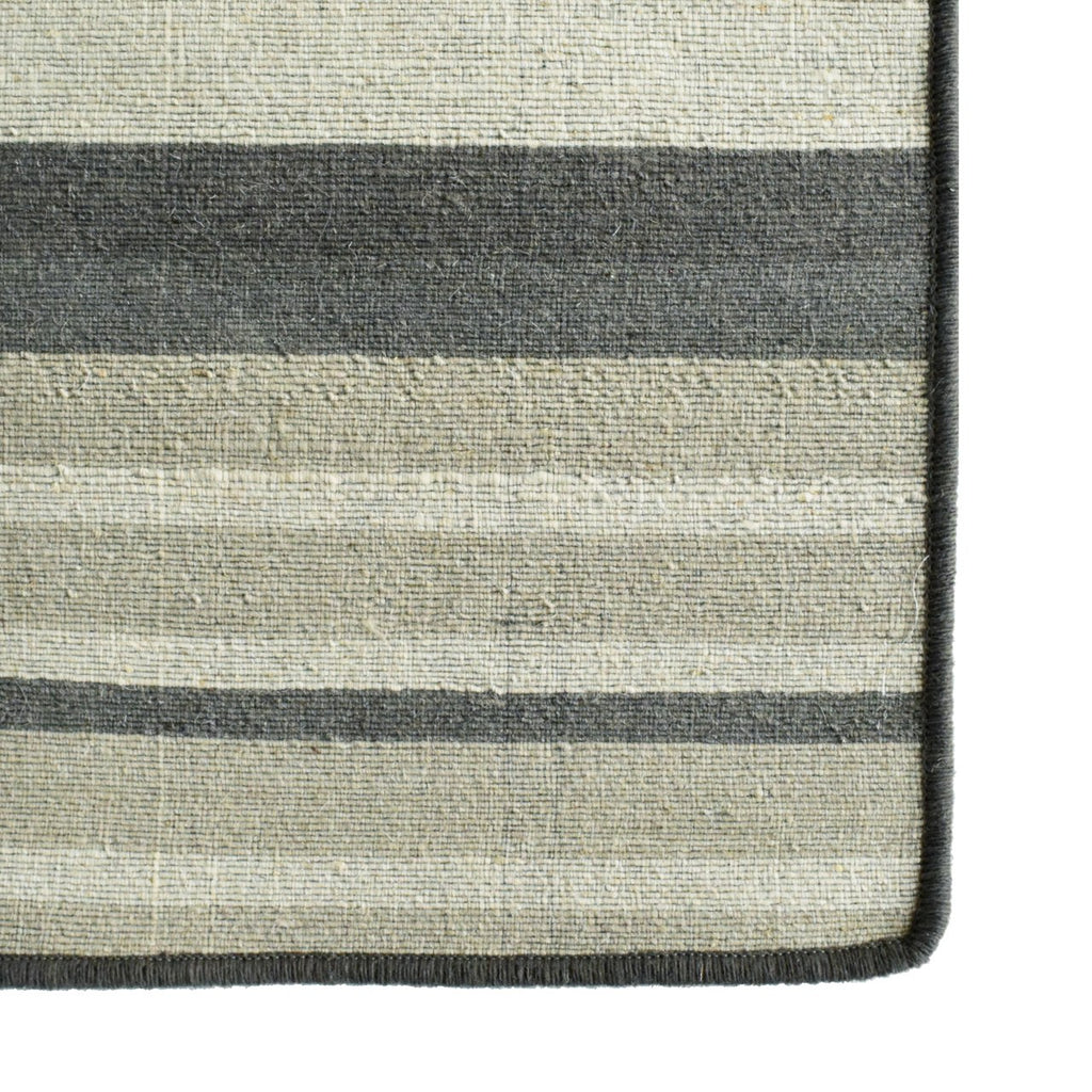 Amirah Modern Design Area Rug Dark Grey Beige