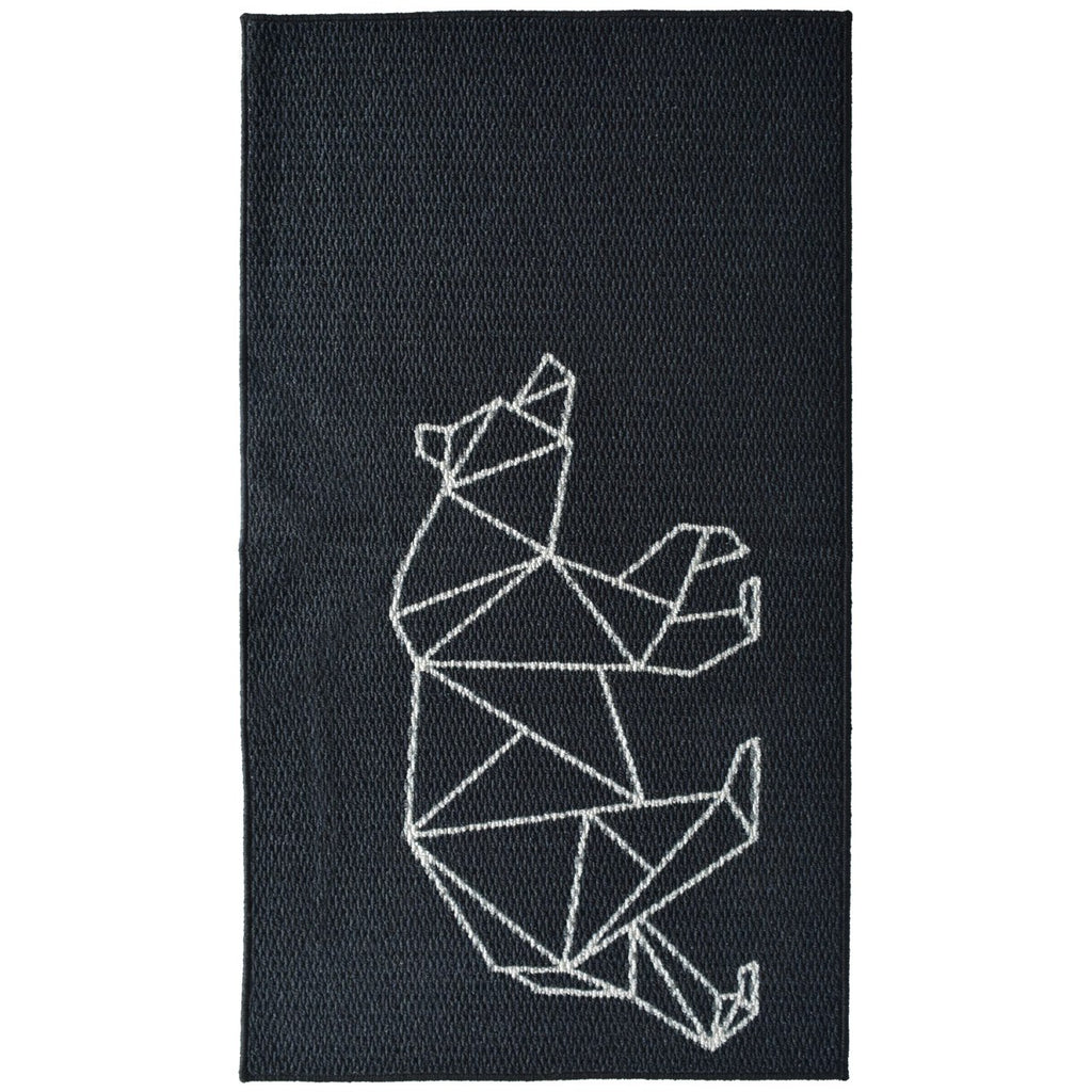 Bear Graphic Decorative Mat