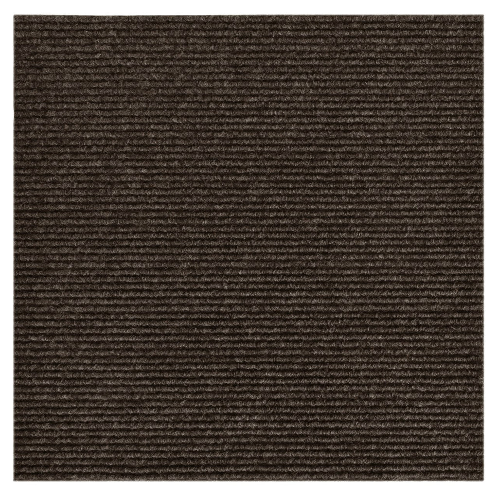 "Carpet Tile Brown 18""x18"" (10 Tiles/Case) PEEL AND STICK"
