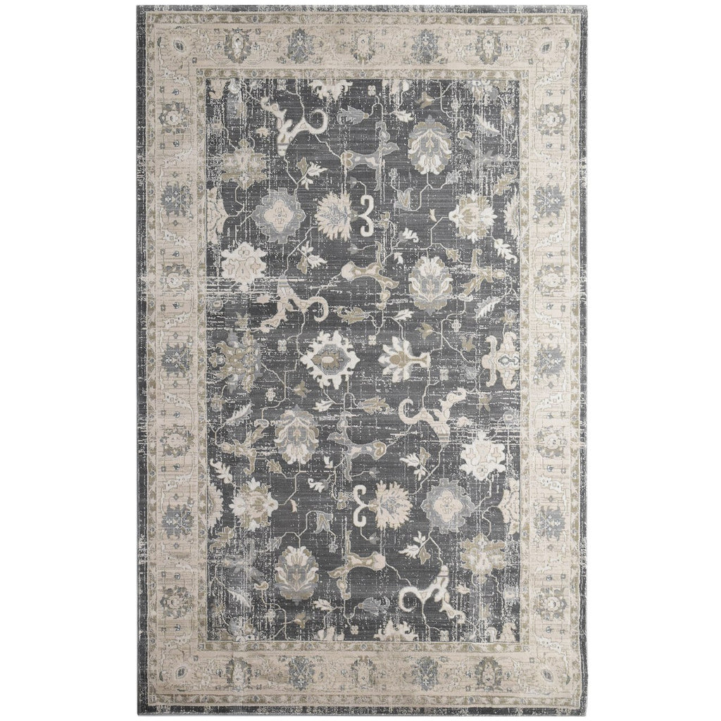 Victorian New Contemporary Collection Charcoal iCustomRug