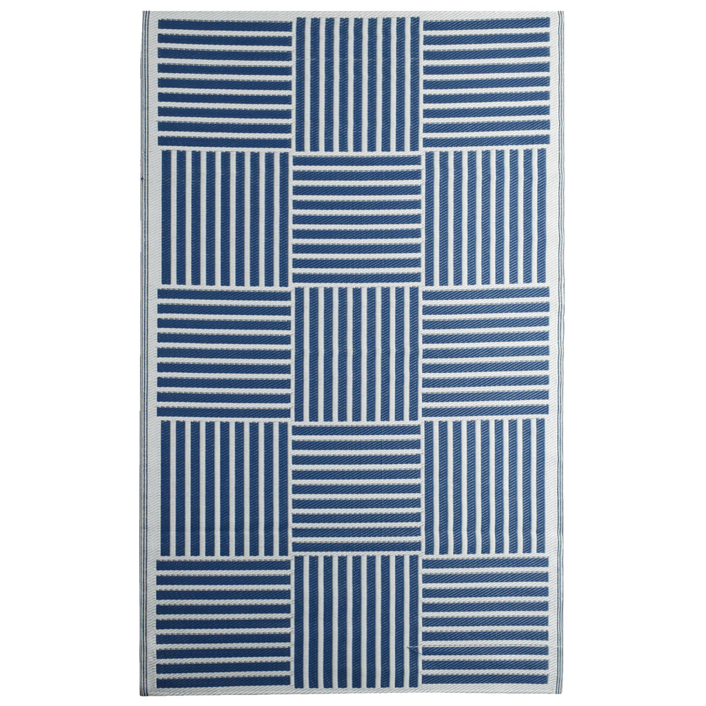 Reversible Outdoor Rug Pacifica Blue