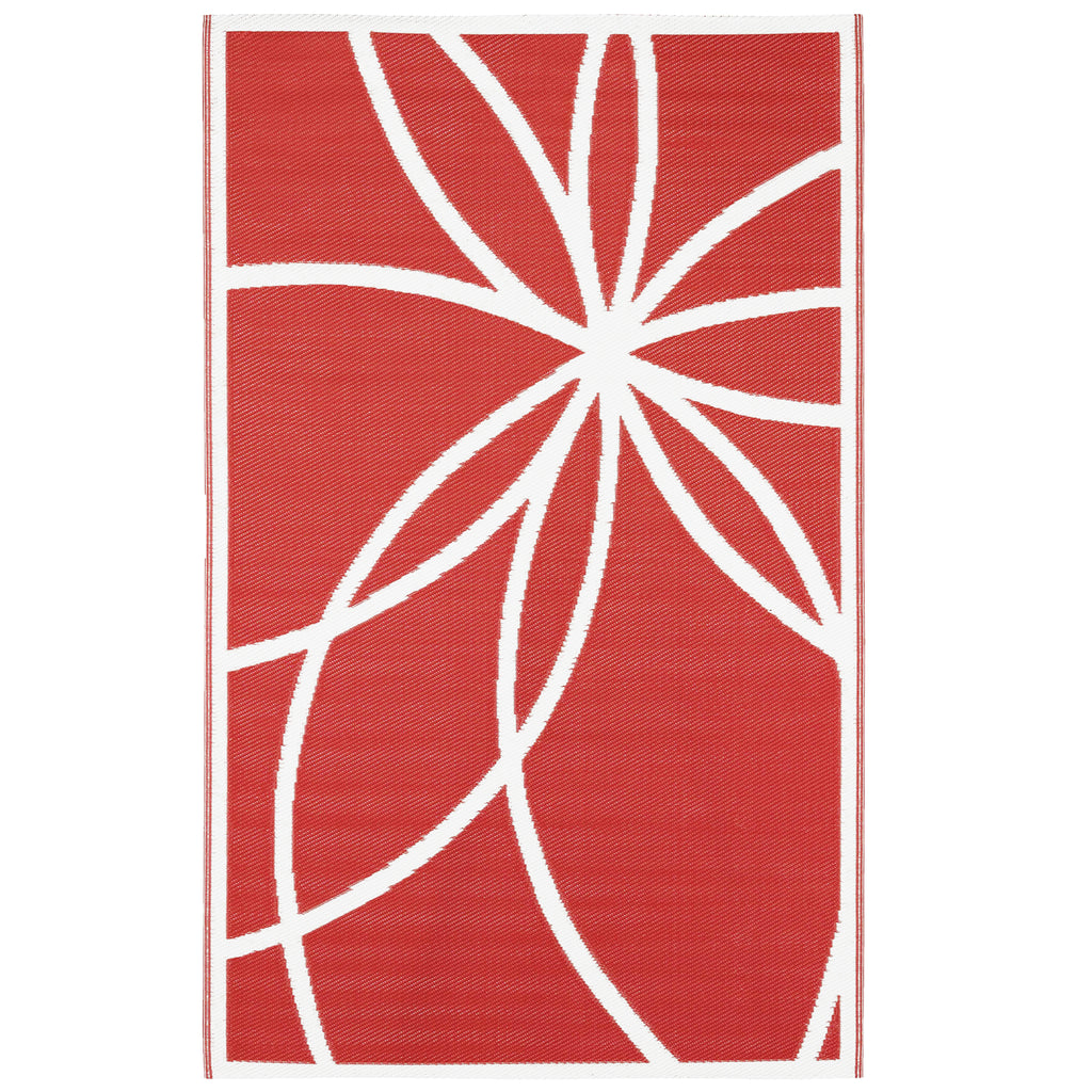 Reversible Outdoor Rug Antartica Red