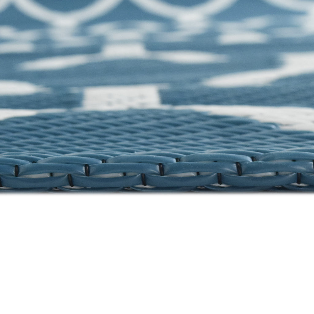 Reversible Outdoor Rug Nile Blue