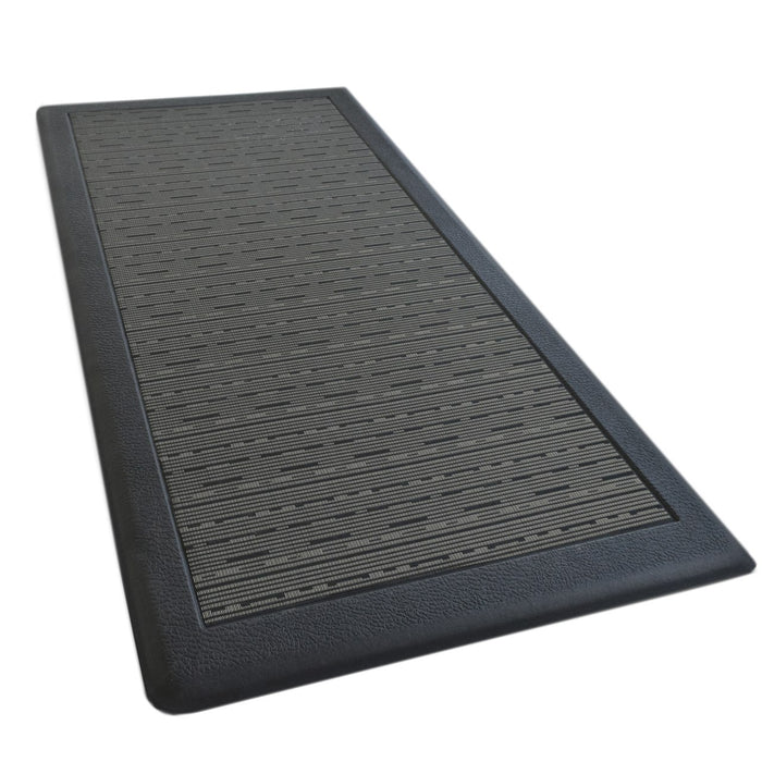 Anti Fatigue Memory Foam Mat Black