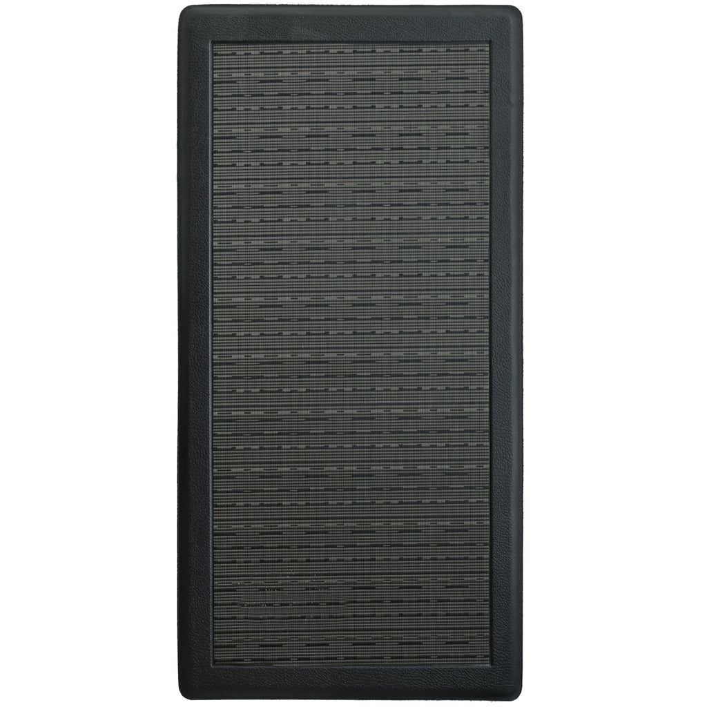 Anti-Fatigue Memory Foam Mat Black iCustomRug