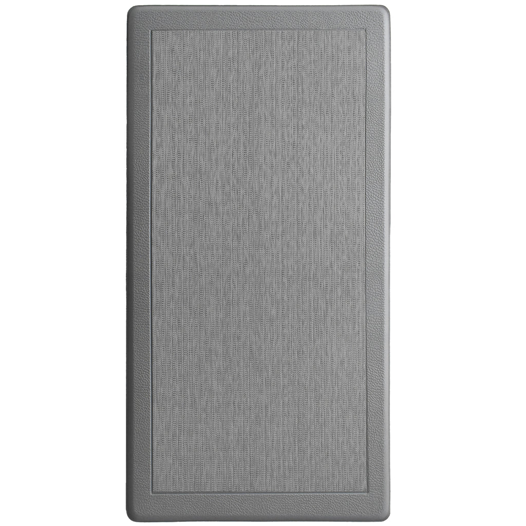 Anti Fatigue Memory Foam Mat Granite iCustomRug