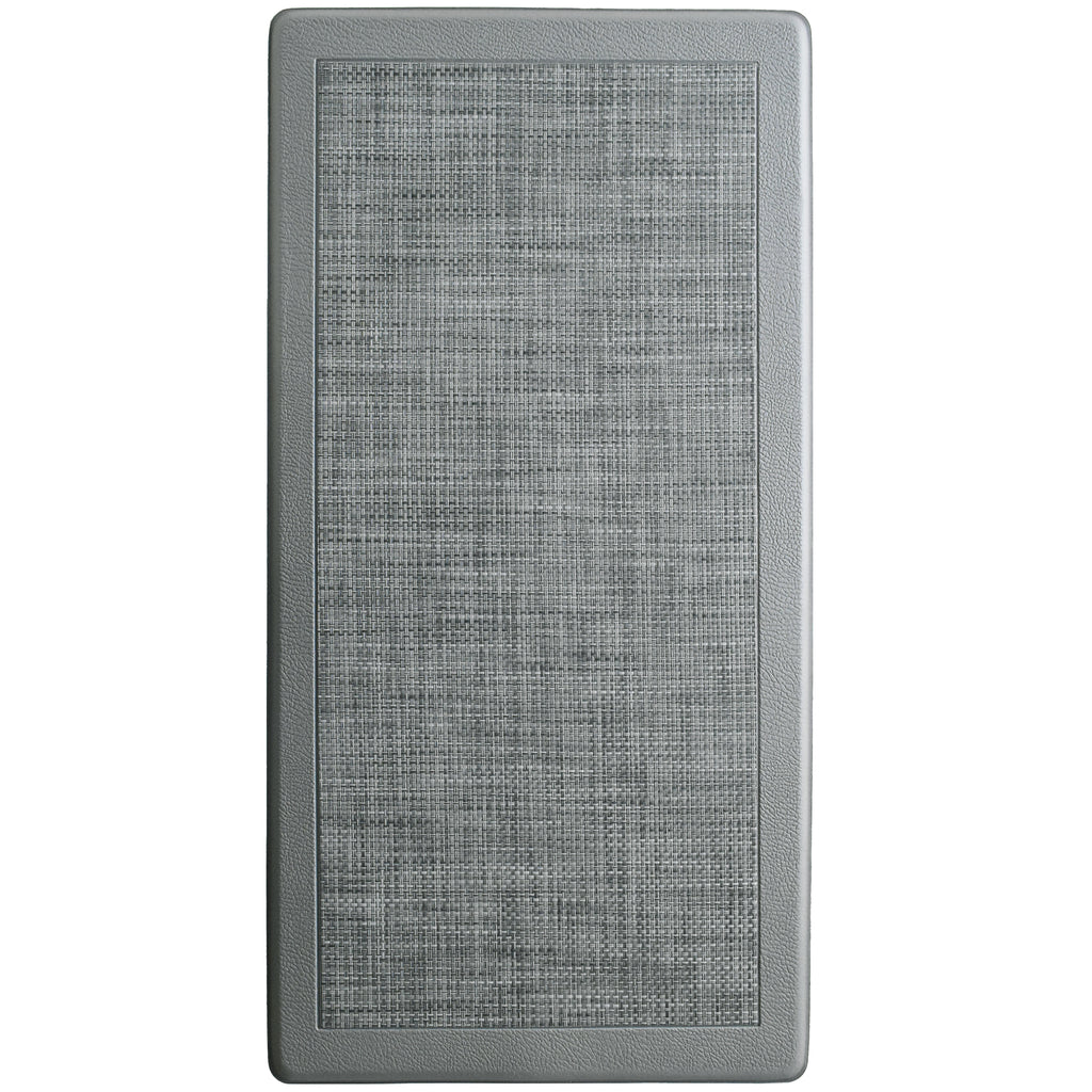 Anti Fatigue Memory Foam Mat Smoke iCustomRug