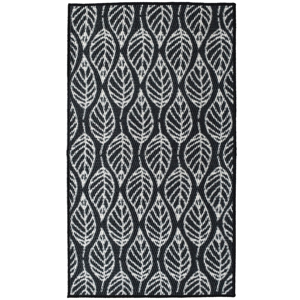 Fall Black Decorative Mat iCustomRug