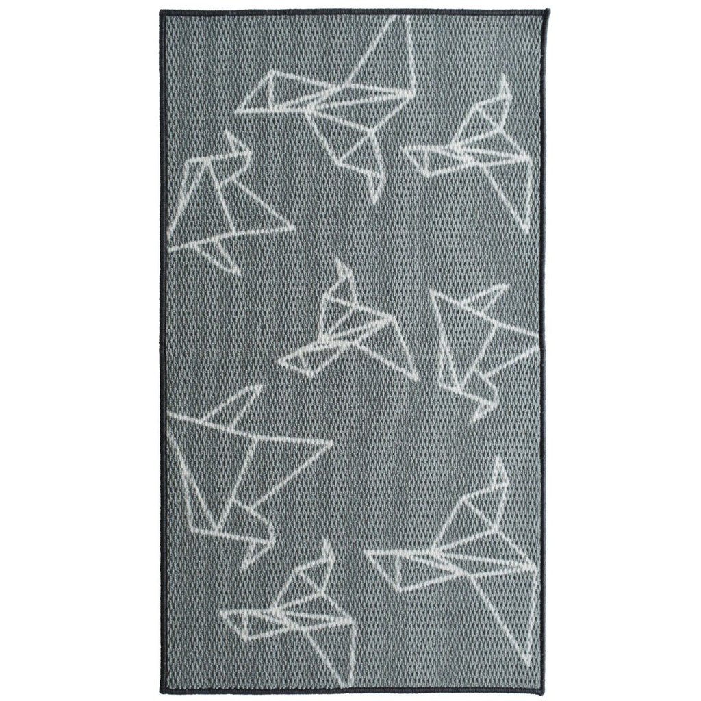 Birds Origami Decorative Mat iCustomRug