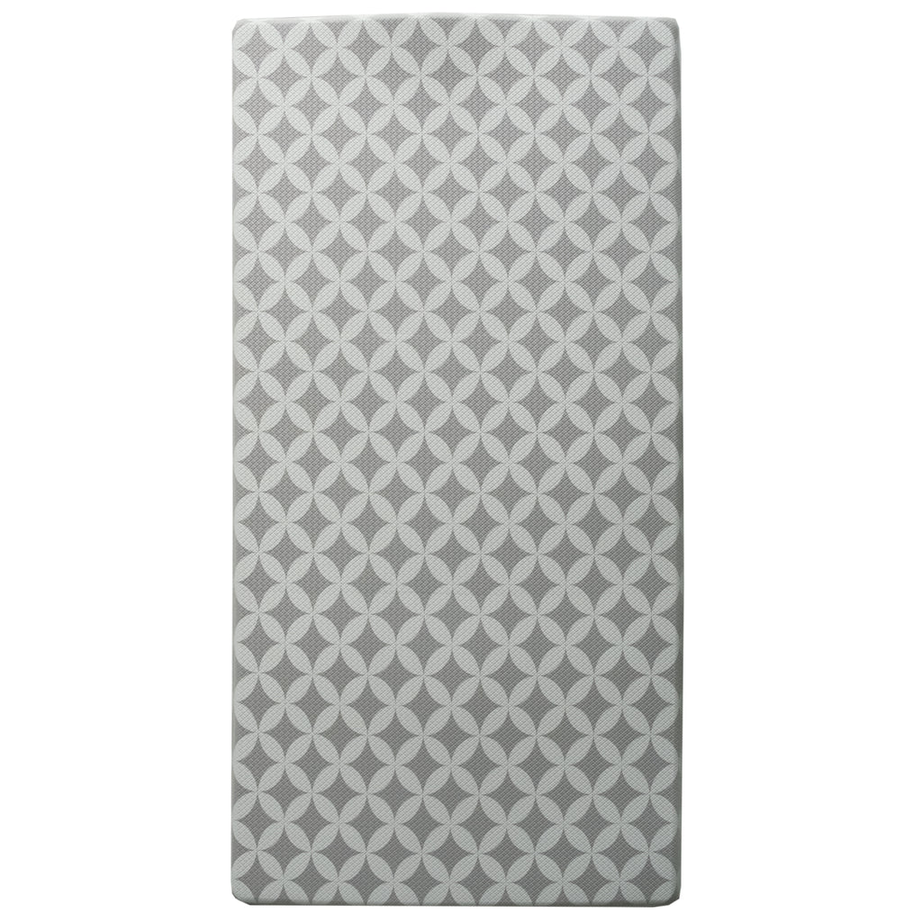 "Printed, Ergonomic, Anti Fatigue Mat. Colorful Memory Foam Comfort Mat Great for Kitchen, Bathroom and Workstation. (39"" x 20"" x 0.75"" in Florence Grey) iCustomRug"