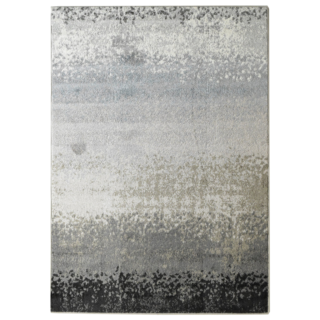 Gradiant Neutral Tone Area Rug 4' x 6' iCustomRug