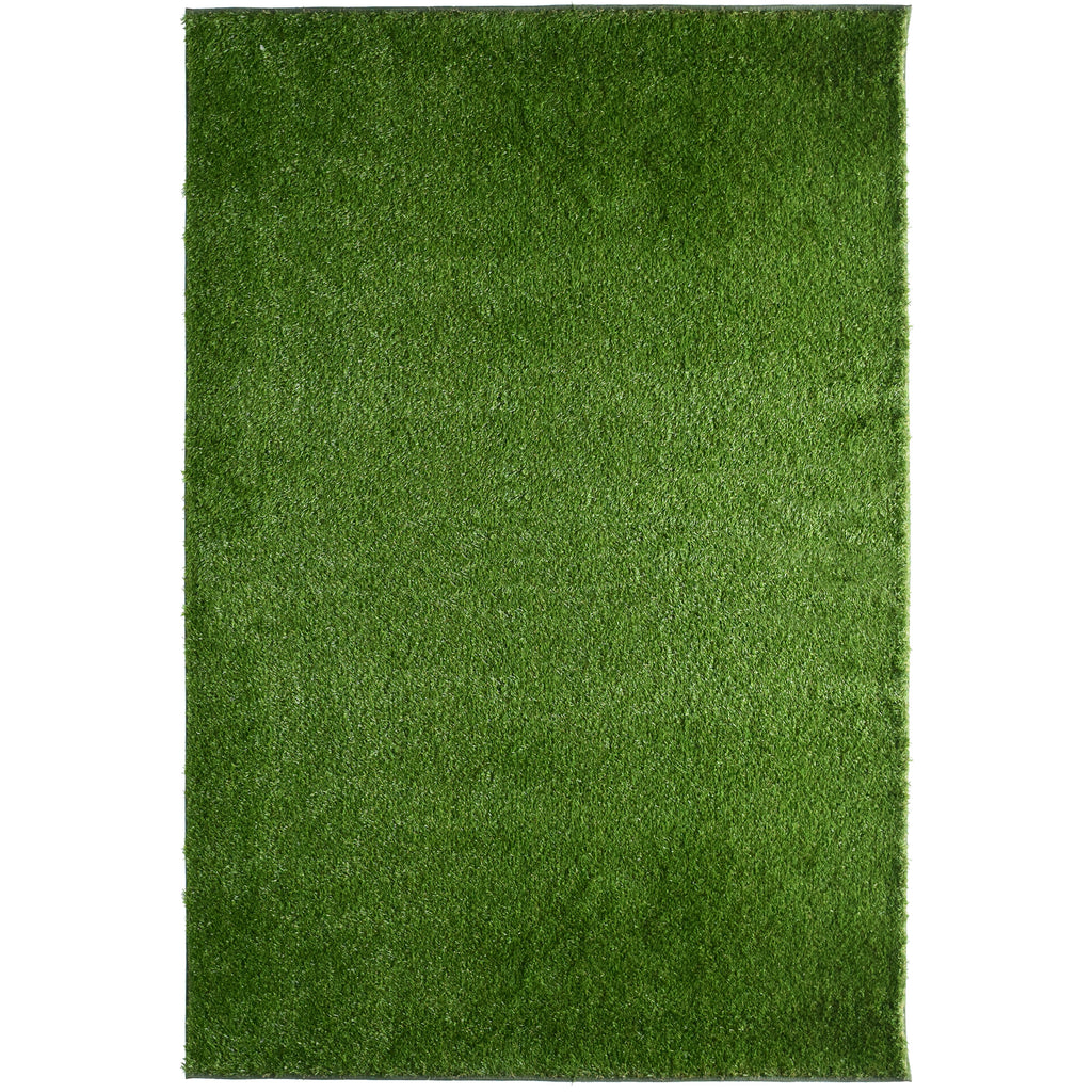 Deluxe Indoor/Outdoor Artificial Fake Grass Area Rug iCustomRug