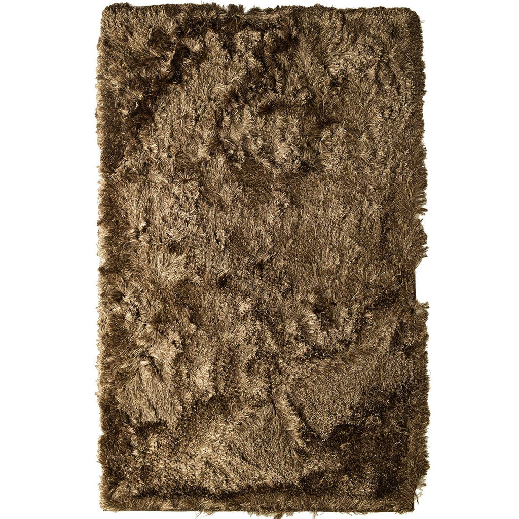 Paris Shag Area Rug Brown
