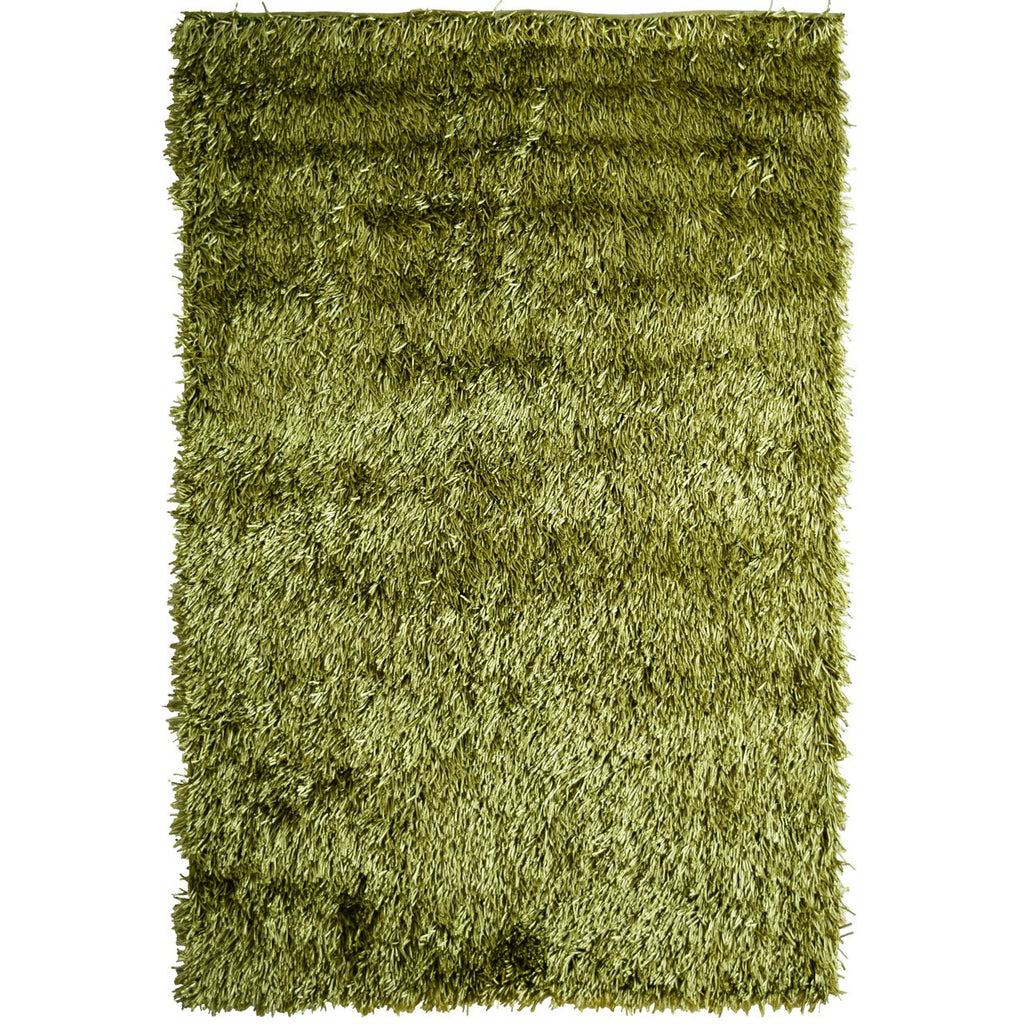 Fiesta Super Soft Bright and Comfortable Shag Green iCustomRug