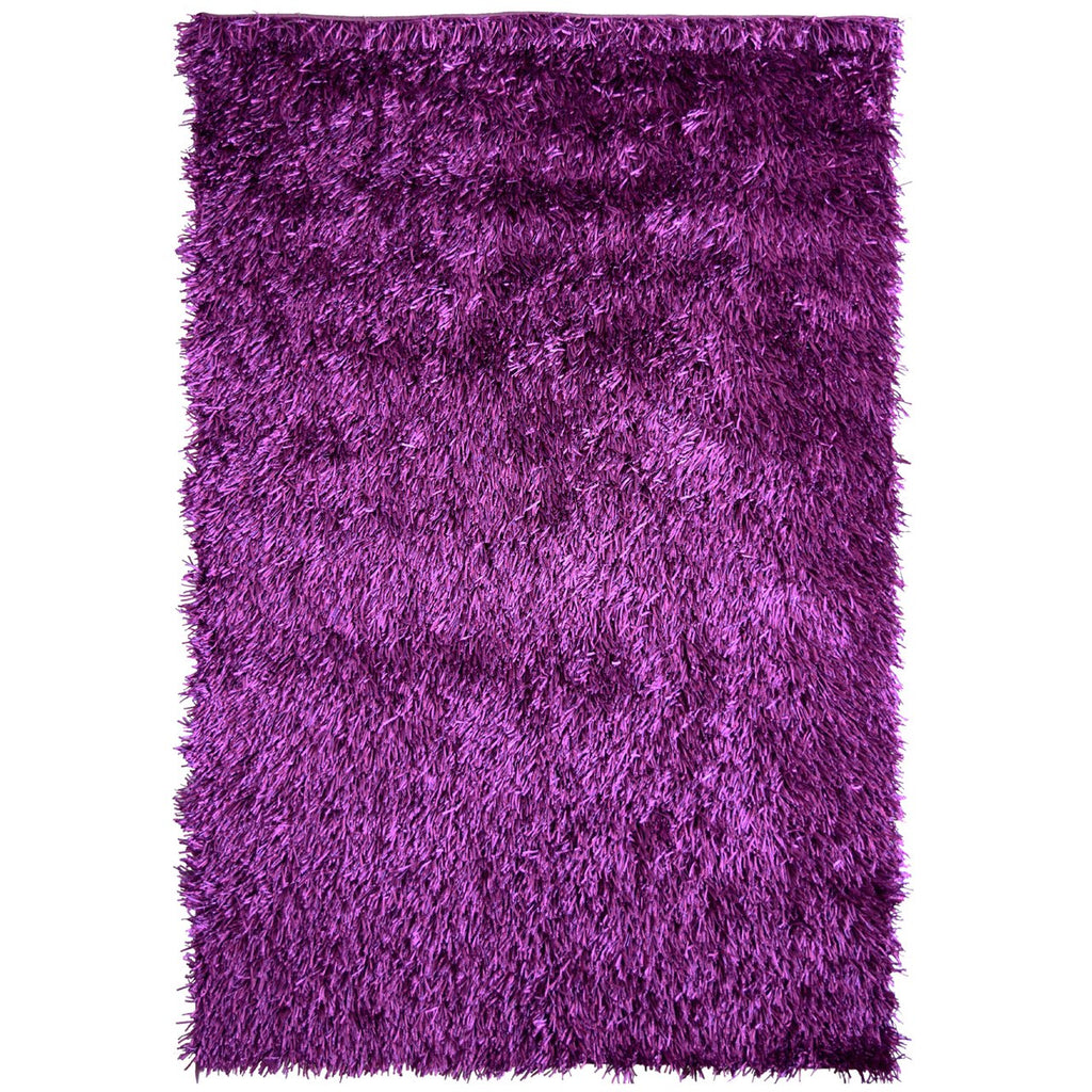 Fiesta Super Soft Bright and Comfortable Shag Purple iCustomRug