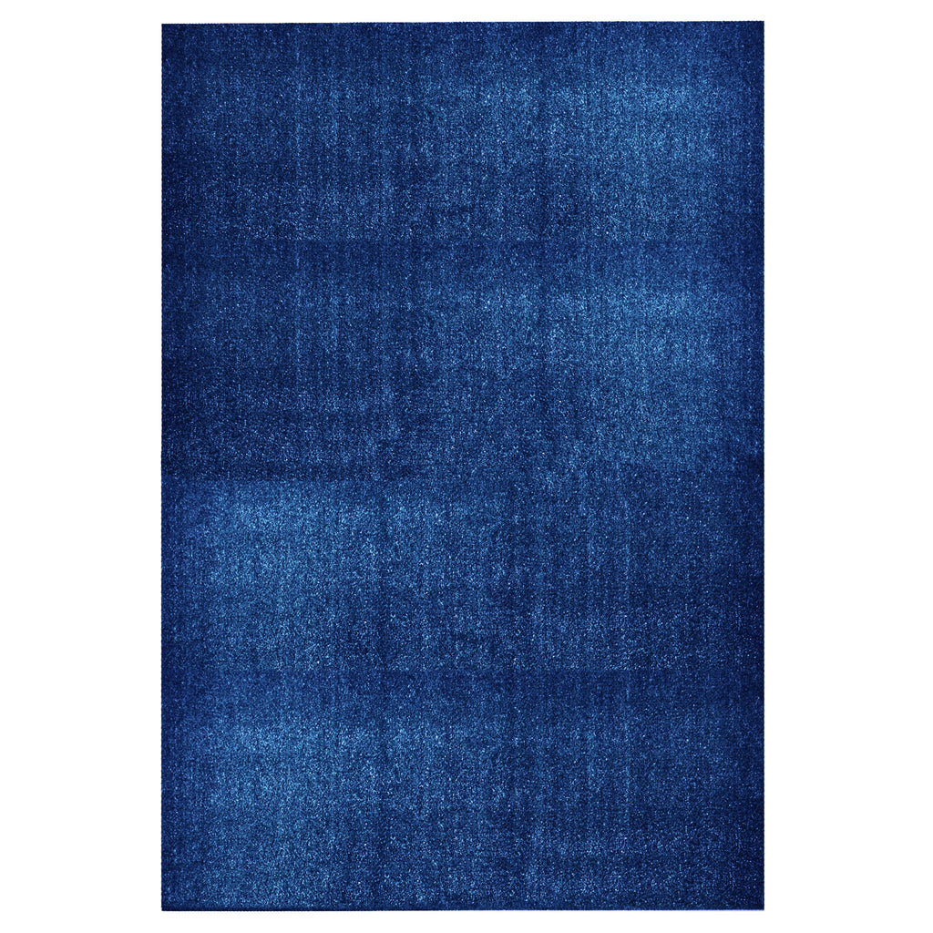Artificial Turf Outdoor Area Rug Blue